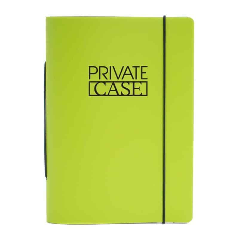 Lime uusionahkainen Unlimited Notes -muistivihko.