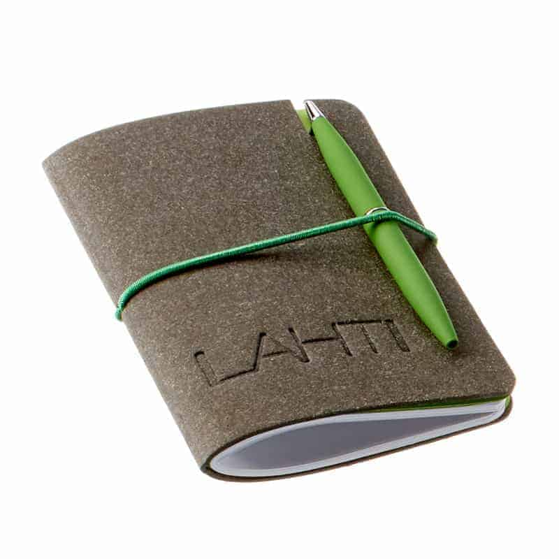 Lahti pocket-vihko, preeglattu logo, uusionahka