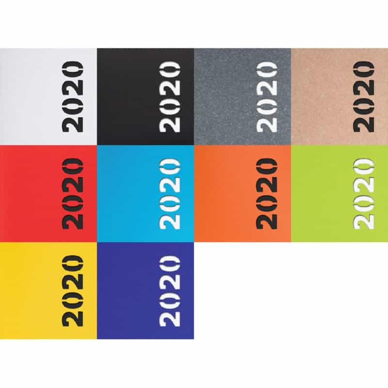 Revived -kalenterin värivaihtoehdot.