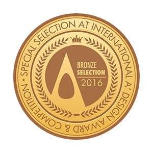 A' design bronze