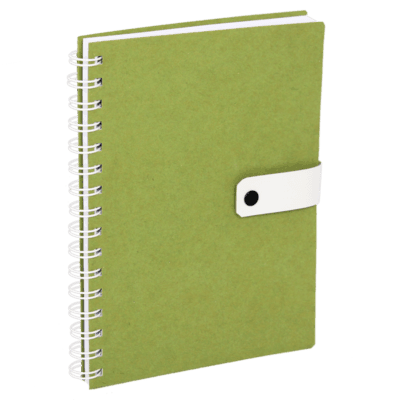 Bullet journal Notebook made from recycled cardboard.