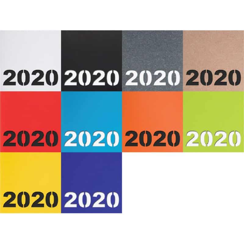 Classic -kalenterin värivaihtoehdot.