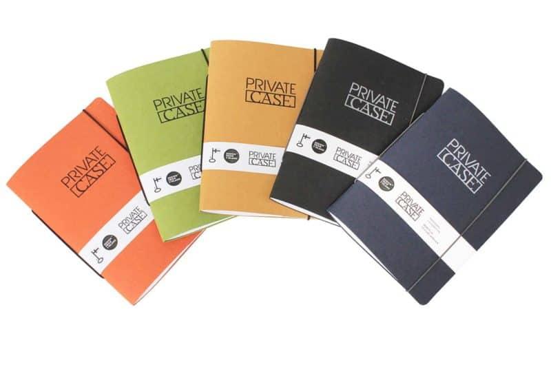 Uusiopahviset Unlimited Notes -muistivihkot eri väreissä.